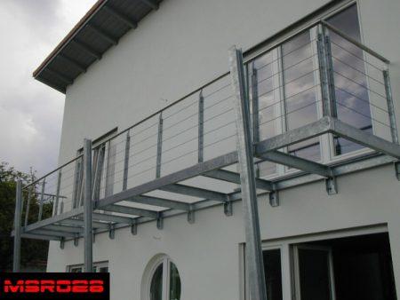 Ms balcony railing grill(028)