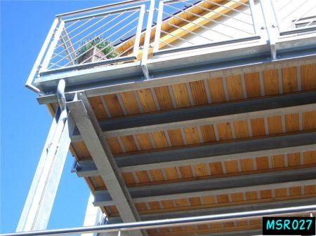 Ms balcony railing grill(027)