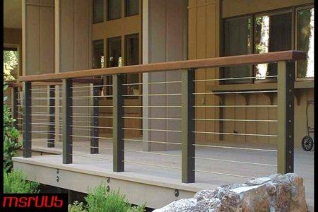 Ms balcony railing grill(005)