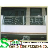 SS Balcony Railing(015)