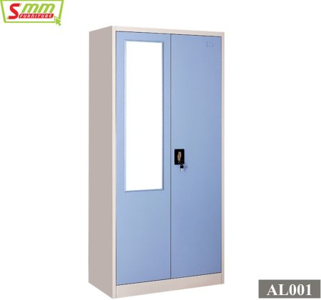 Steel Almira with Locker AL001