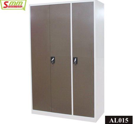 Three Door Almira with Locker