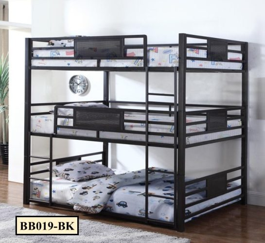 Bunk Bed Three in One