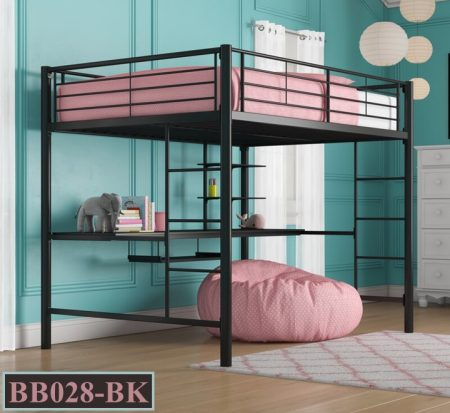 Desk With Bunk Bed