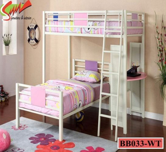 Desk with Bunk Bed (BB033)
