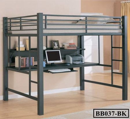 Desk with Bunk Bed (BB037)