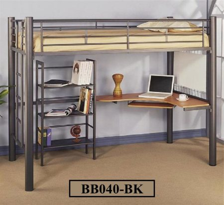 Desk & Self with Bunk Bed