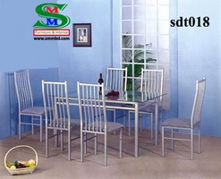 Steel Dinning Table (018)