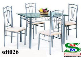 Steel Dinning Table (026)