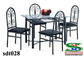 Steel Dinning Table (028)