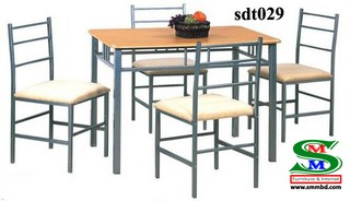 Steel Dinning Table (029)
