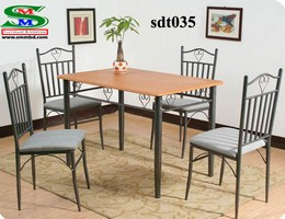 Steel Dinning Table (035)