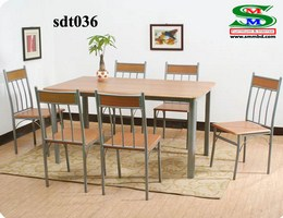 Steel Dinning Table (036)