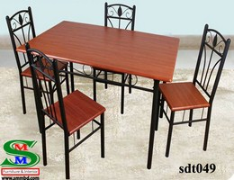 Steel Dinning Table (039)