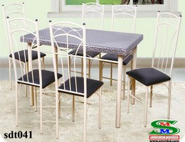 Steel Dinning Table (041)