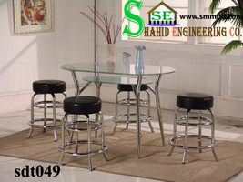 Steel Dinning Table (049)