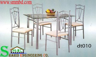 Steel Dinning Table (010)