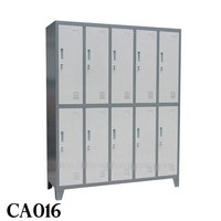 2 Door Steel School Lockers (016)