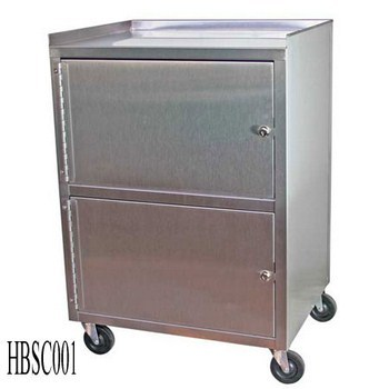 Hospital Bedside Cabinet With 2 Door (001)