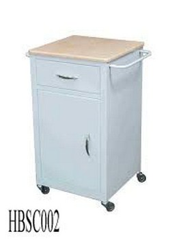 Hospital Bedside Cabinet With Drawer And Door (002)