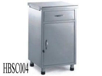 Hospital Bedside Cabinet With Drawer And Door (004)