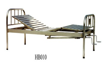 Stainless Steel Hospital Bed (010)