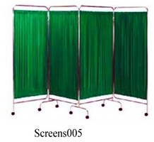 Durable Steel Frame 4 Folding Hospital Privacy Screens (005)