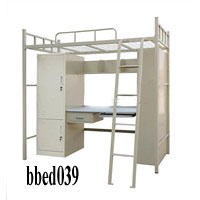 Bunk bed with desk & cabinet (039)