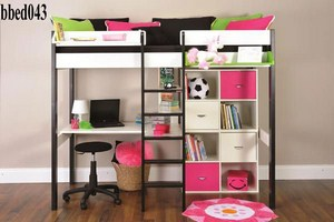 Bunk bed with desk & self  (043)