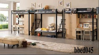 Bunk bed with desk & cabinet (045)
