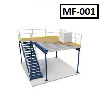 mezzanine floor rack