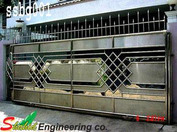 Stainless Steel Boundary Gate (001)