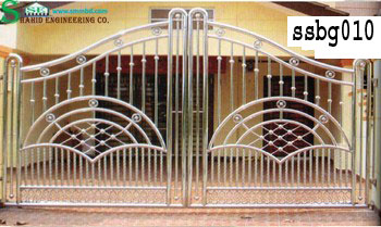 Stainless Steel Boundary Gate (010)