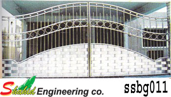 Stainless Steel Boundary Gate (011)