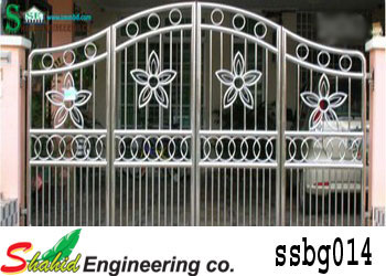 Stainless Steel Boundary Gate (014)