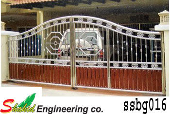 Stainless Steel Boundary Gate (016)