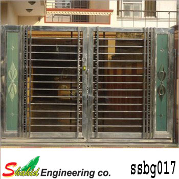 Stainless Steel Boundary Gate (017)