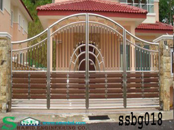 Stainless Steel Boundary Gate (018)