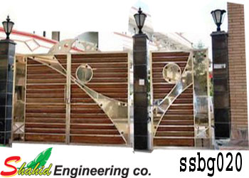 Stainless Steel Boundary Gate (020)