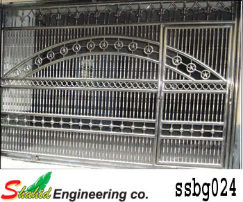 Stainless Steel Boundary Gate (024)