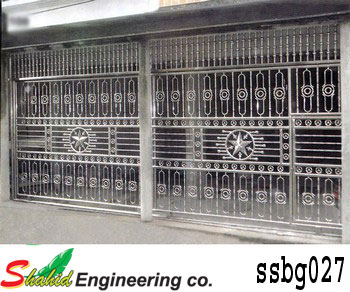 Stainless Steel Boundary Gate (027)