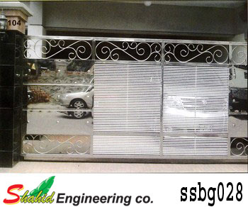 Stainless Steel Boundary Gate (028)