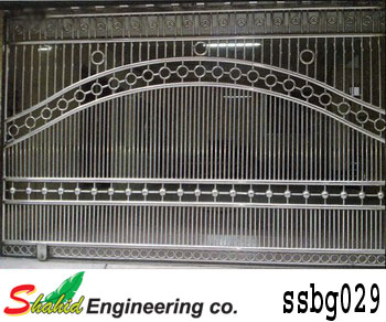Stainless Steel Boundary Gate (029)