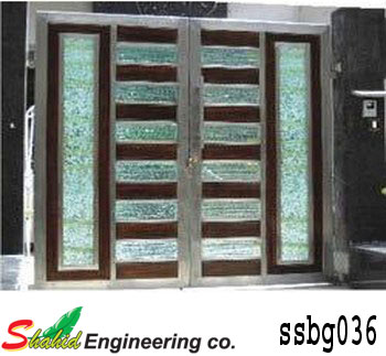Stainless Steel Boundary Gate (036)