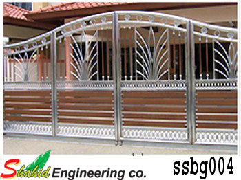 Stainless Steel Boundary Gate (004)