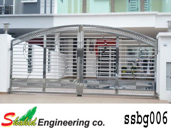 Stainless Steel Boundary Gate (006)