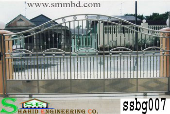 Stainless Steel Boundary Gate (007)