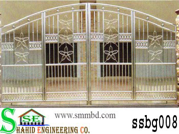 Stainless Steel Boundary Gate (008)