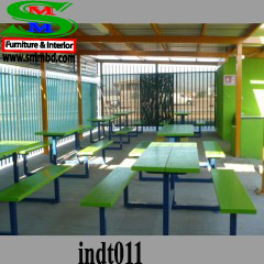 Industrial worker dining table (011)