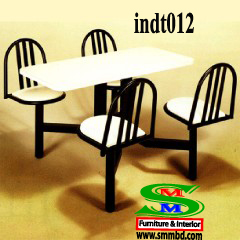 Industrial worker dining table (012)